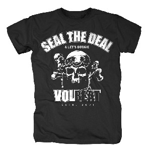 Seal The Deal Skull (l)<br> (T-Shirt)