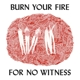 Coverbild Burn Your Fire For No Witness - Olsen,  Angel - LP